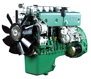 Started business for the third time Successful trial production of CA6DL diesel engine